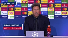 """Simeone: """"Maradona es fútbol, es argentino... fue y es el mejor del mundo"""""""
