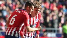 LaLiga (J19): Resumen y gol del Atlético 1-0 Levante