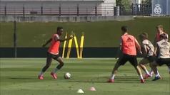 El Real Madrid entrena por primera vez en el Alfredo Di Stefano