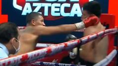 El devastador ataque del 'Alacrán': Miguel Berchelt deja KO a Eleazar Valenzuela