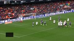 Gol de Oro: Gol de Rubén Alcaraz (1-1) en el Valencia 1-1 Valladolid