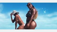 El twerking de Venus y Serena Williams en bikini que conquista al tenis