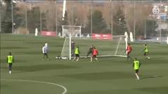 El Madrid afronta con optimismo y con Bale el choque de Champions ante el Brujas