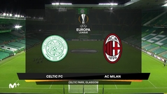 Europa League (J1): Resumen y goles del Celtic 1-3 AC Milan