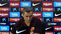"""Valverde: """"No tengo ninguna duda de que el 26-O se celebraría el Clásico sin problemas"""""""