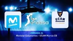 Liga ACB. Resumen: Estudiantes 86-110 Murcia