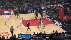 Cousins vuelve a la NBA 356 días después de romperse el tendón de Aquiles... y lo primero que hace es esto