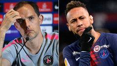 """Tuchel: """"Sabía que Neymar quería irse desde antes de la Copa América"""""""