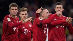 Los goles del Bayern Múnich 3-0 Nurenberg