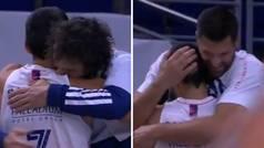 Campazzo se despide sobre la cancha: el abrazo a Llull y a Felipe emocionará a los madridistas