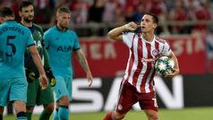 Champions League (Grupo B): Resumen y goles del Olympiacos 2-2 Tottenham