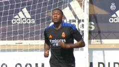 Así fue el primer entrenamiento de Alaba con el Real Madrid