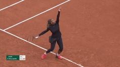 Roland Garros: Resumen del Serena Williams ante Kristie Ahn (6-7, 0-6)