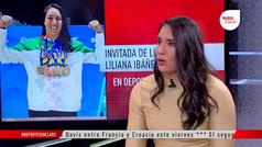 """Liliana Ibáñez: """"Le quité 25 años de retraso a la natación en una semana"""""""