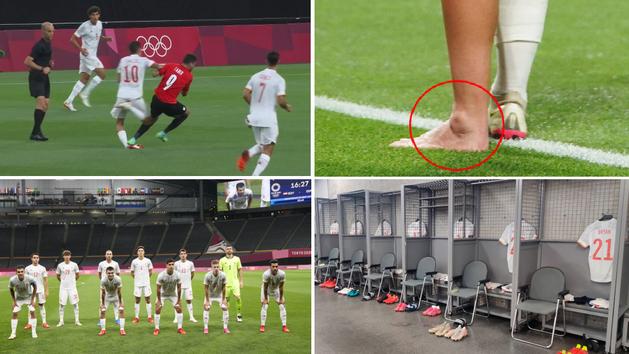 Los detalles del Egipto-España: el tobillo doblado de Ceballos, 'celdas' en los vestuarios...