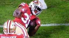 Estremecedora lesión en la NFL: terrorífica fractura de brazo de Mostert