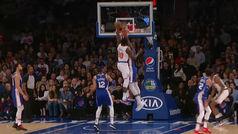 El peor inicio en la historia de los Knicks no oculta el mate más bestial en la NBA