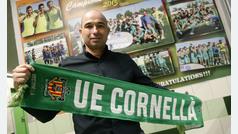 Andrés Manzano Director general Deportivo de la UE Cornellà, analiza el cruce con el FC Barcelona