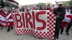 Manifestación contra la venta de acciones del Sevilla