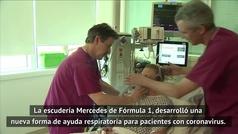 Mercedes diseña ventiladores para pacientes COVID-19