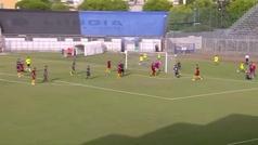 La chilena de Marcano en su debut con la Roma