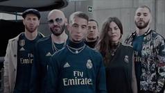"""El videoclip trap con el que el Madrid presenta su segunda camiseta: """"Yo soy del Madrid, del Real"""""""