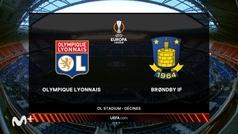 Europa League (J2): resumen y goles del Olympique Lyon 3-0 Brondby