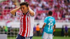 Gol de último minuto de Sanvezzo le roba el triunfo a las Chivas en casa