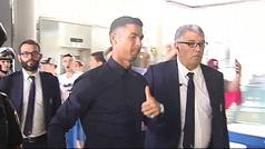 MX Cristiano Ronaldo se marcha de Valencia tras su complicado estreno en la Champions