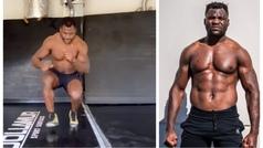 El intenso entrenamiento en casa de la bestia de la UFC, ¿aguantarías una sesión?