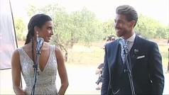 ¿La primera boda con rueda de prensa? Así fueron las primeras impresiones de Ramos y Pilar Rubio