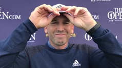 Declaraciones de Sergio García tras la tercera jornada del British Open