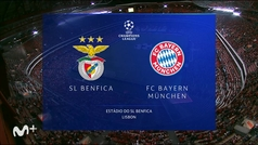Champions League (Jornada 3): Resumen y goles del Benfica 0-4 Bayern