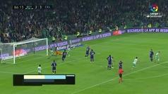 Gol de oro: Gol de Canales (3-3) en el Betis 3-3 Celta