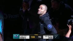Spurs 93-108 Hornets