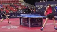 Vacilada viral en ping pong: Los dos golpes por la espalda que revolucionan el tenis de mesa