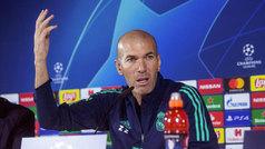 """Zidane: """"¿Mi puesto? Yo quiero estar aquí siempre, le tenéis que preguntar a otro"""""""