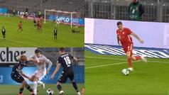 50 salvajes segundos que resumen el año de Lewandowski en el Bayern