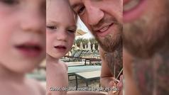 """McGregor incita a su hijo a devolver el golpe a otro niño: """"Tú apunta a la boca"""""""