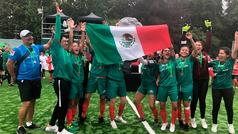 Las mexicanas no tuvieron piedad con las peruanas