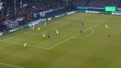 Gol de Agüero (0-1) en el Schalke 2-3 Manchester City