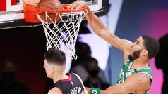 Jayson Tatum se pone a la altura de LeBron James en playoffs