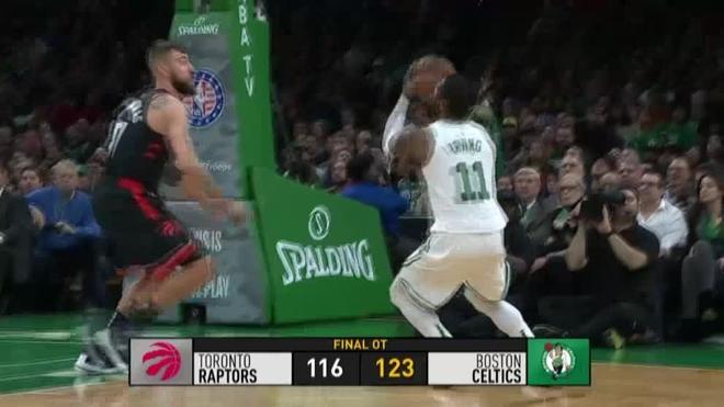Celtics vencen a Raptors en duelo de favoritos en el Este