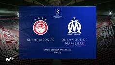 Resumen y goles del Olimpiacos  1-0 Marsella
