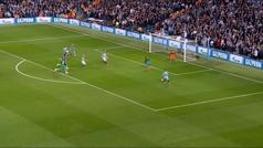Gol de Bernardo Silva (2-2) en el Manchester City 4-3 Tottenham