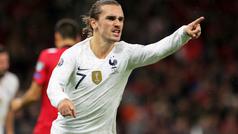 Los goles del Albania 0-2 Francia