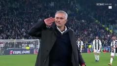 El gesto de Mourinho la última vez que visitó el Juventus Stadium