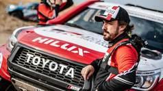 """Los kilómetros de arena de Alonso: """"Ahora sí estamos ya para el Dakar"""""""