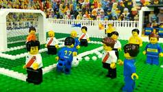 El Boca Juniors vs River Plate de la Final de la Libertadores, en versión LEGO