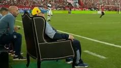 MX: ¡El trono del 'Rey' Maradona! Newell's le hace insólito homenaje al Diego